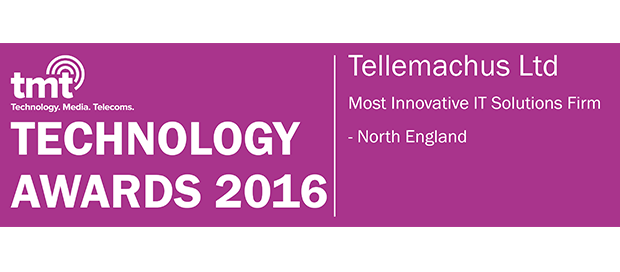 Tellemachus was awarded the 2016 Most Innovative IT Solutions Firm in North England for its secure IT solutions innovations.