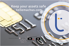 Tellemachus Card Shield will protect you from contactless card skimming.